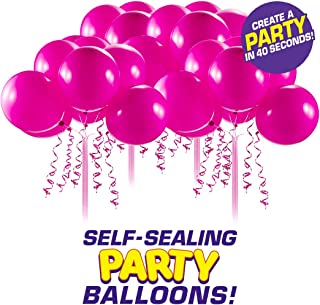 Bunch O Balloons Self-Sealing Latex Party Balloons (32 X Pink 11In Balloons) (Custom Pack)