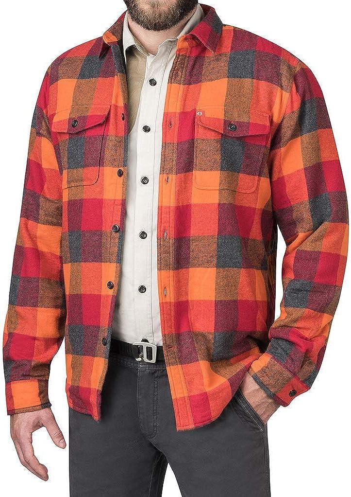 The American Outdoorsman Polar Fleece-Lined Flannel Shirt Jacket