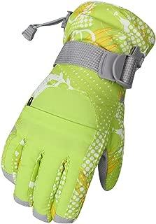 WATERFLY Winter Gloves for Women Snow Gloves Warm Waterproof Windproof Ski Gloves