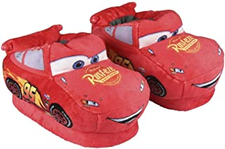 Cerdá 3D Cars 3, Zapatillas de Estar por casa Niños