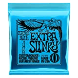 Ernie Ball Extra Slinky Nickel Wound Set, .008 - .038