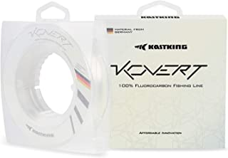 KastKing Kovert Fluorocarbon Fishing Line and Fluorocarbon Leader, Made in Germany, Virtually Invisible Under Water, Shock...