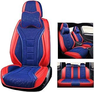 Lupex Shop Bravo.N.BS Coprisedili Fiat Bravo Bicolore Nero-Blu Scuro