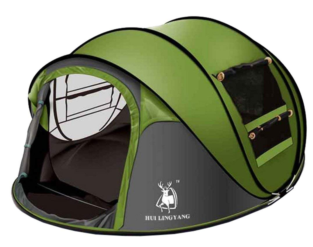 Ghlee Seconds Pop Up Quick Opening C&ing Hiking Large Instant Tent for Outdoor Sports C&ing Hiking  sc 1 st  Amazon UK & 4 Man Pop Up Tents: Amazon.co.uk