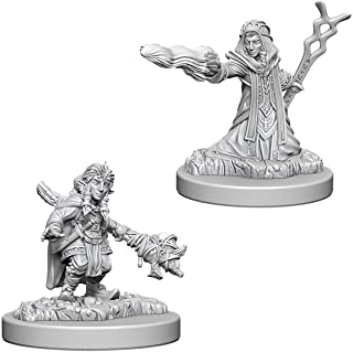 Dungeons & Dragons Nolzur's Marvelous Unpainted Minis: Female GNOME Wizard