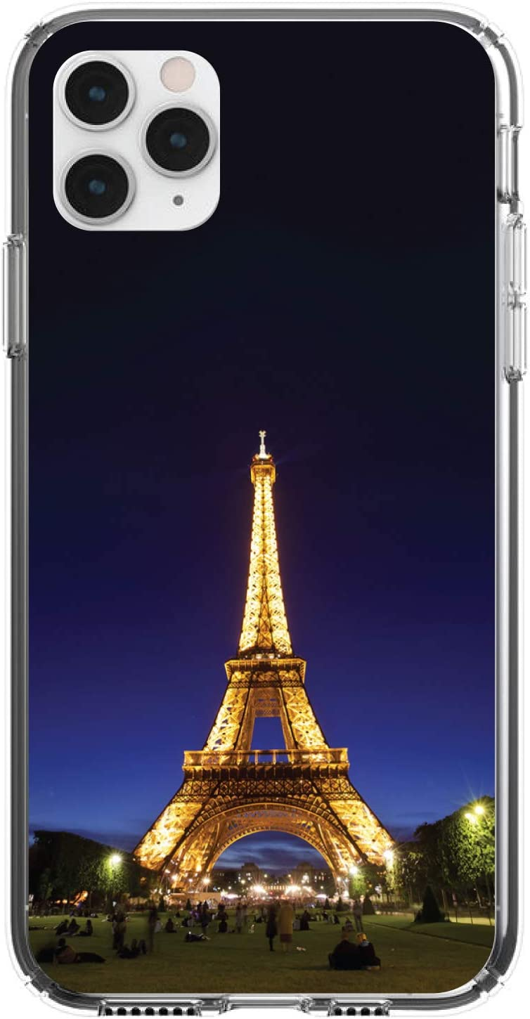 DistinctInk Clear Shockproof Hybrid Choice Case for MAX iPhone Nippon regular agency 11 Pro
