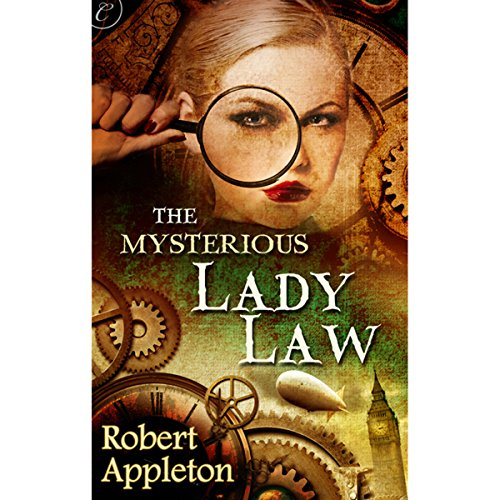 The Mysterious Lady Law audiobook cover art