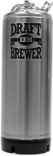 Draft Brewer New 5 Gallon Stainless Steel Ball Lock Keg