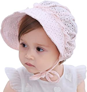 Baby Girls Sun Hat Summer Baby Hats Fashion Hollow Sun Protection Caps Floppy Beach Hat Vacation Caps