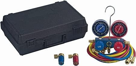Robinair 48510 R134a Aluminum Manifold Set with 72