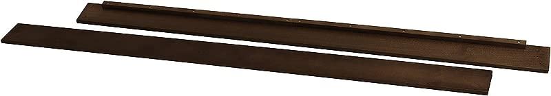 Twin Size Conversion Kit Bed Rails For Davinci Emily 2 In 1 Mini Crib Espresso