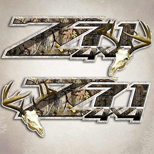 Aftershock Camouflage Deer Hunting Sticker 4x4 Truck Decal Silverado