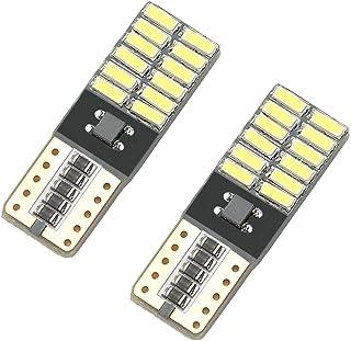 OcioDual 2X Bombilla LED Canbus NO Error W5W T10 24 SMD 4014 Blanco Error Free para Luces de Posición Matricula Interior Coche