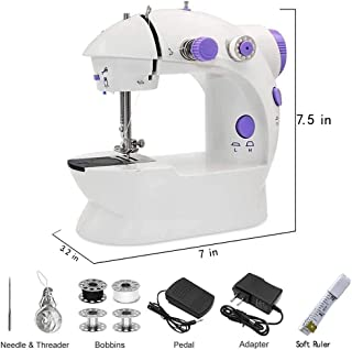 SHUSUEN⭐ 2020 New Desktop Electric Sewing Machine 12 Stitches Household Tailor 2 Speed Foot Pedal