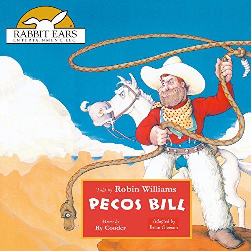 Pecos Bill audiobook cover art