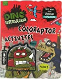 Dino Supersaurus: Superpower Coloring (French Edition)