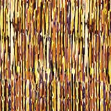 Viskosejersey Pinselstreifen – karamell — Meterware ab