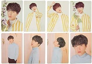Opopark Kpop BTS Magazine Polaroid Lomo Cards Suga Jungkook V HD Photocard Poster(H04)