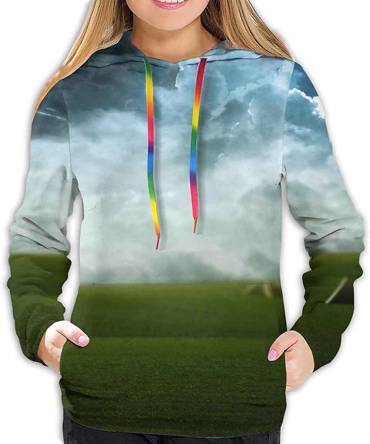 Fashion Japan's largest assortment Manufacturer direct delivery Falling star Women Hoodie Playing Sweat 3D Graphic Print