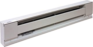TPI Corporation E2903-024SW Electric Baseboard Heater, Stainless Steel Element, 120 Volt, 375 Watts, 24