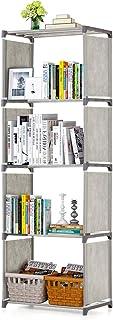 5-Shelf Bookcase Book Shelves Bookshelf Storage Bin Books Display Shelving Unit Organizer