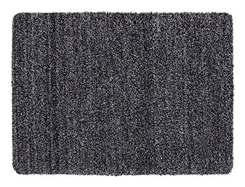 andiamo Schmutzfangmatte Sauberlaufmatte Fußmatte - Indoor/Outdoor Matte - waschbar, in 4 Farben erhältlich, Farbe:Anthrazit, Größe:50 x 80 cm