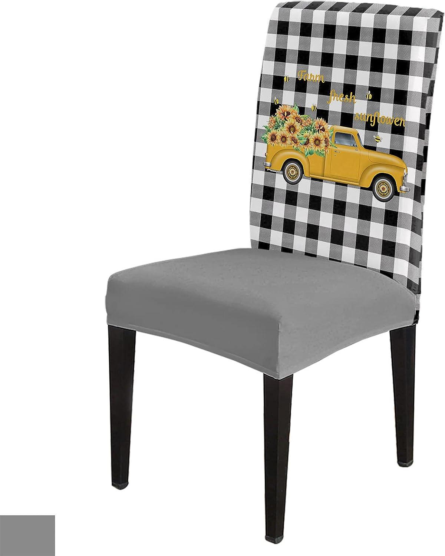 8 Per Set Truck Loads of Regular dealer Covers Elegant Rustic Chair for Dini Sunflowers