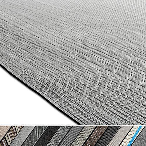 casa pura Design Bodenschutzmatte Bologna in 6 Größen | dekorative Unterlegmatte für Bürostühle oder Sportgeräte (120 x 90 cm)