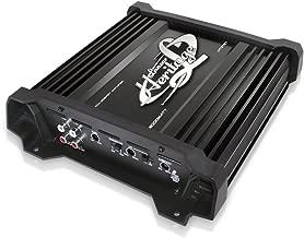 Lanzar Amplifier Car Audio, Amplifier Monoblock, 1 Channel, 2,000 Watt, 2 Ohm, RCA Input, Bass Boost, Mobile Audio, Amplifier for Car Speakers, Car Electronics, Crossover Network (HTG137)