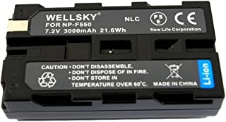 NLC LT2F2200 NP-F550 NP-F570 互換バッテリー [ 純正充電器で充電可能 残量表示可能 純正品と同じよう使用可能 ] ソニー FUTABA 双葉 14MZAP 14MZHP 12ZA 12ZH HDR-FX7