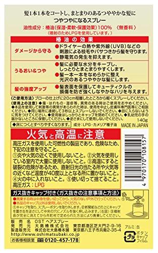 大島椿『ヘアスプレー』