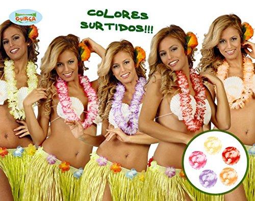 Hawaiian Beach Party Flower Lei Necklace