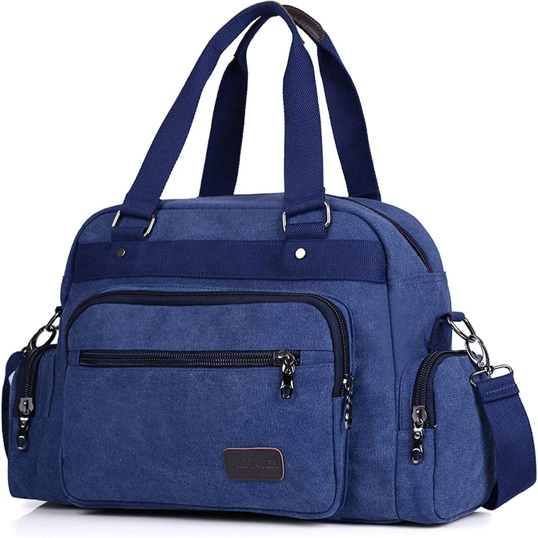 Ranking free TOP9 WANGJ Big for Travel Canvas Weeke Men Duffle Foldable Bag