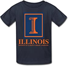 University Of Illinois At Urbana Champaign Kid's Tee Black