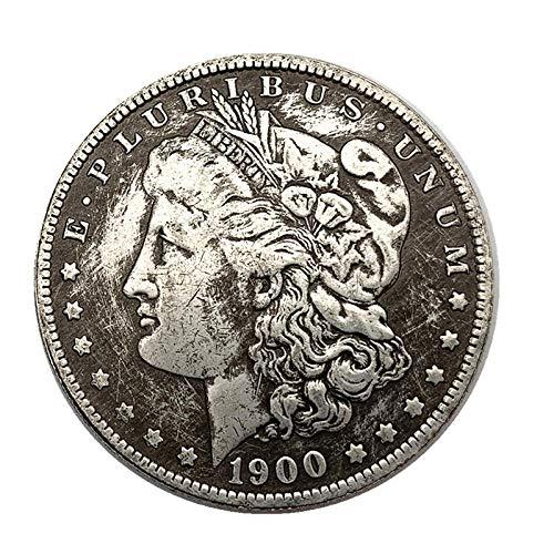 1900 Moneda de Plata Americana Moneda Conmemorativa del Dólar de Plata Morgan Moneda Extranjera Águila Yang Moneda de Plata Long Yang Moneda Antigua Moneda de Plata Cobre