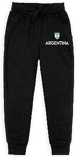 Yuanmeiju Argentina Soccer Boys Pantalones Deportivos,Pantalones Deportivos for Teens Boys Girls