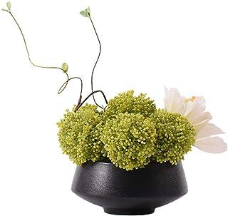PAKUES-QO Plantes Artificielles Faux Plantes Succulentes Plantes Artificielles en Pot dans Un Bassin en Céramique Vintage ...