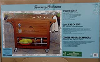 Tommy Bahama Relax 100 Quart / 94.6 L Wood Rolling Cooler