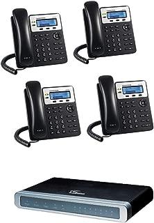Grandstream GXW4104 4 Ports FXO IP Gateway + GXP1625 2 lines IP Phone 4-UNITS