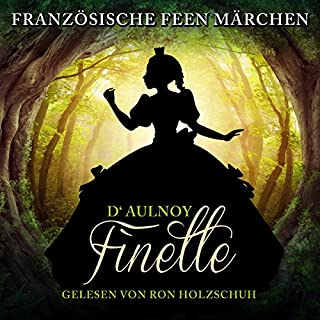 Finette     Französische Feenmärchen              Autor:                                                                                                                                 Marie Catherine D'Aulnoy                               Sprecher:                                                                                                                                 Ron Holzschuh                      Spieldauer: 45 Min.     Noch nicht bewertet     Gesamt 0,0