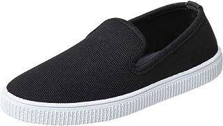 Salerno Textile Notched Vamp Slip-on Shoes for Men