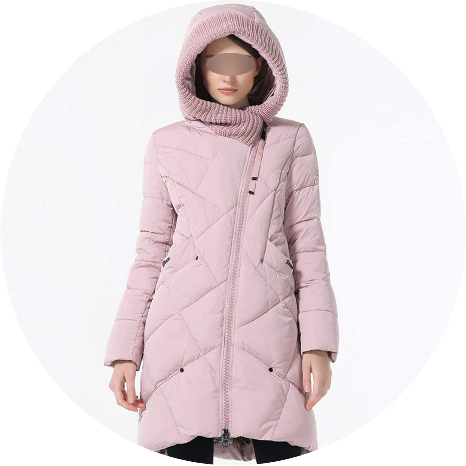 Be fearless New Winter Collection Brand Fashion Thick Women Winter Bio Down Jackets Hooded Women Parkas Coats