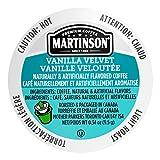 Martinson Single Serve Coffee Capsules, Vanilla Velvet,...