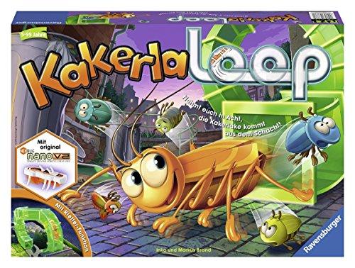 Ravensburger Kinderspiele 21123 - Kakerlaloop 21123 - Spiel für Kinder ab 5 Jahren