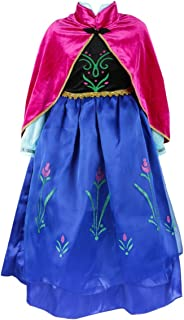 ELSA & ANNA® Princesa Disfraz Traje Parte Las Niñas