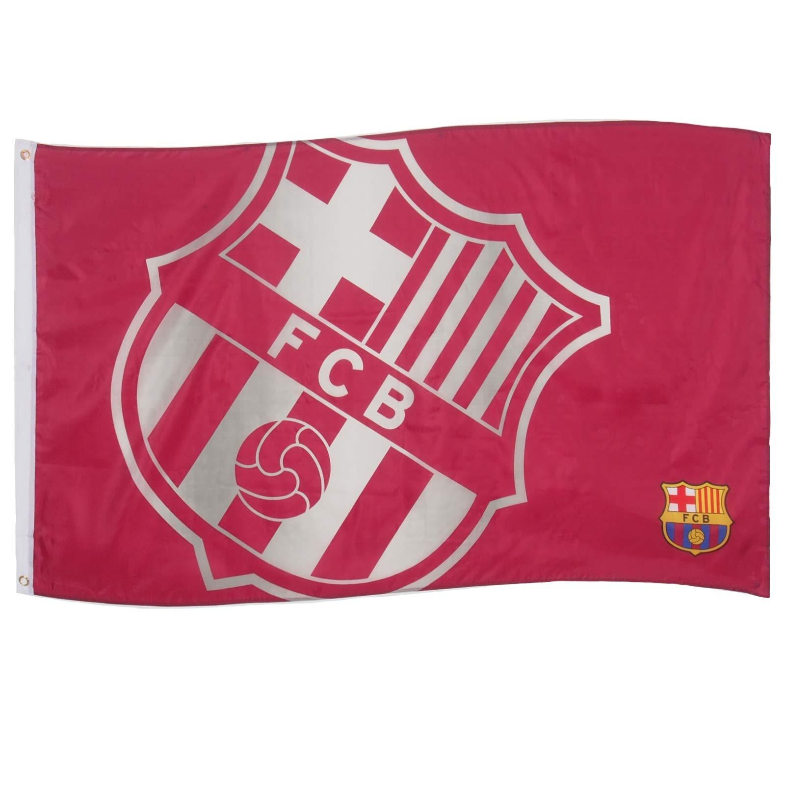 Bandera FC Barcelona Licencia Oficial 152 xX 91 Centimetros ...