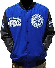 Phi Beta Sigma Fraternity Mens Centenial Wool Jacket Royal Blue