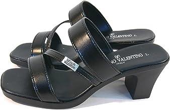 [ルチアーノ バレンチノ] 日本製 7cmヒール 美脚オフィスサンダル レディース IM3971 0 0