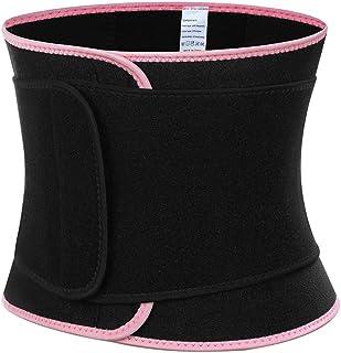 MASS21 Womens Neoprene Waist Cincher Belt Weight Loss Sauna Waist Shaper Workout Belt