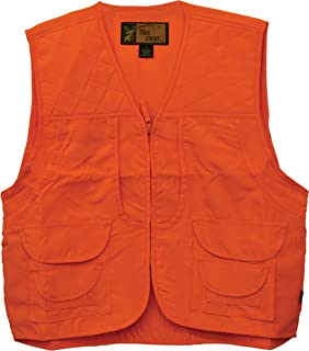 TrailCrest Men's Blaze Orange Safety Front Loader Vest